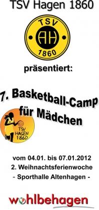 7. Basketball-Camp für Mädchen - Januar 2012