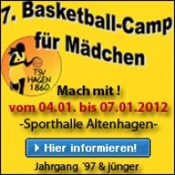 7. Basketball-Camp für Mädchen - Januar 2012 (Teaser)
