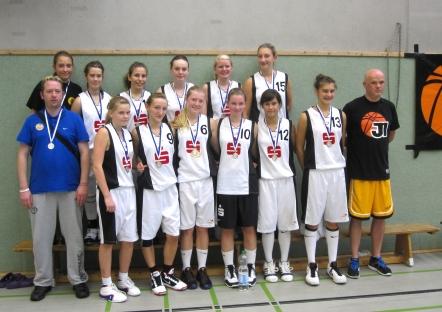 Das Team der U15-1 beim Brinkers Cup am 11. & 12.9. in Herne