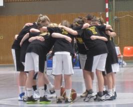 Die U15-1 vor der Enderunde der Deutschen Meisterschaft 2010/2011