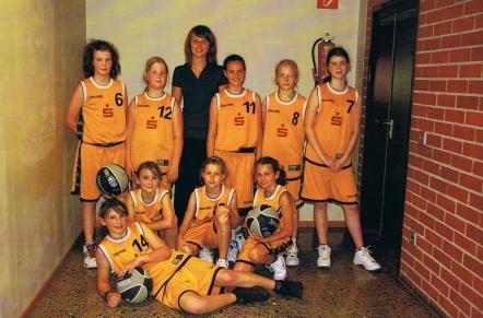 Das 2. Team der U12 beim Miniturnier in Göttingen
