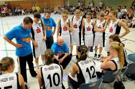 Finale um die Deutsche Meisterschaft U15 weiblich 2010/11 // Copyright Foto: Michael KLEINRENSING