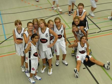 Die U13 beim Brinkers Cup am 28. & 29.8.2010 in Herne