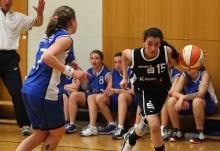 Ayse Colakoglu im Endspiel um die westdeutsche Meisterschaft 2010/2011