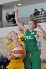 WP-Hagen: Hagen, 13.11.2011; Hagen, Basketball, Mädchen U17 TSV 1860 Hagen – SG Weiterstadt WP-Bild Martin Prehl ( Bild honorarpflichtig - WAZ-Autoren-Nummer.: 243133 )