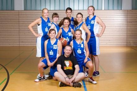Teamfoto 2012/13: Landesliga-Damen