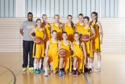 TSV Hagen: Teamfoto U17-1 / WNBL (2013/14)