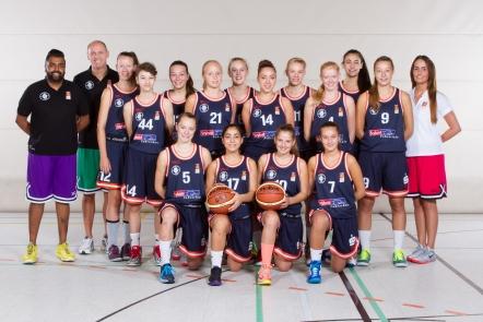 TSV Hagen: Teamfoto U17-1 WNBL (2014/15)