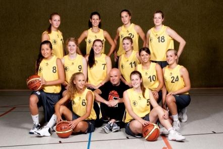 1. Damen Mannschaft 2010/11