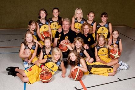 Mannschaft der U11-1 2010/11