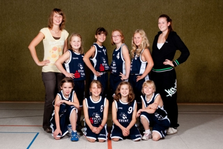 Mannschaft der U11-2 2010/11