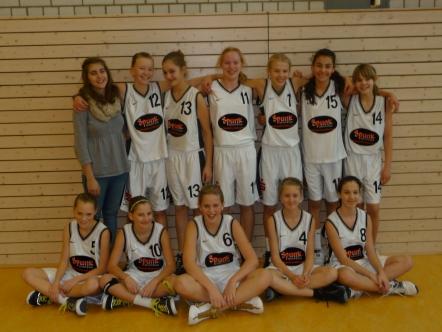 Mannschaft der U13-1 2010/11 am 7. Spieltag