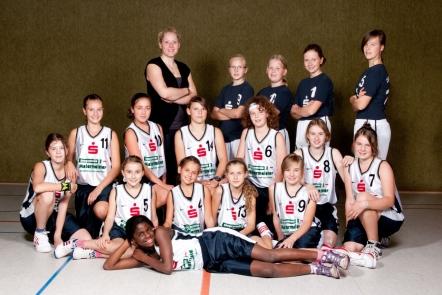Mannschaft der U13-2 2010/11
