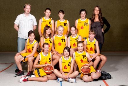 Mannschaft der U15-2 2010/11