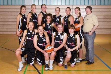 Teamfoto Landesliga Damen 2011/12