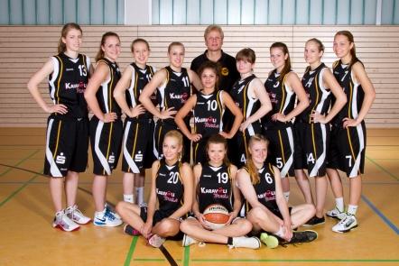 Teamfoto Oberliga Damen 2011/12