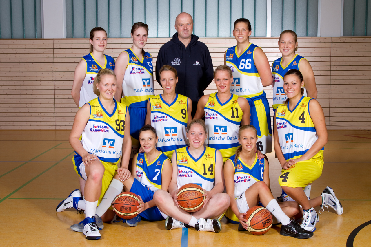 Teamfoto Phoenix Ladies 2011/12