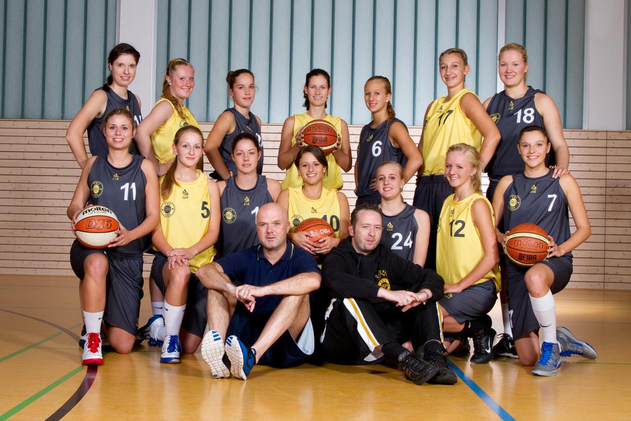 Teamfoto Regionalliga Damen 2011/12