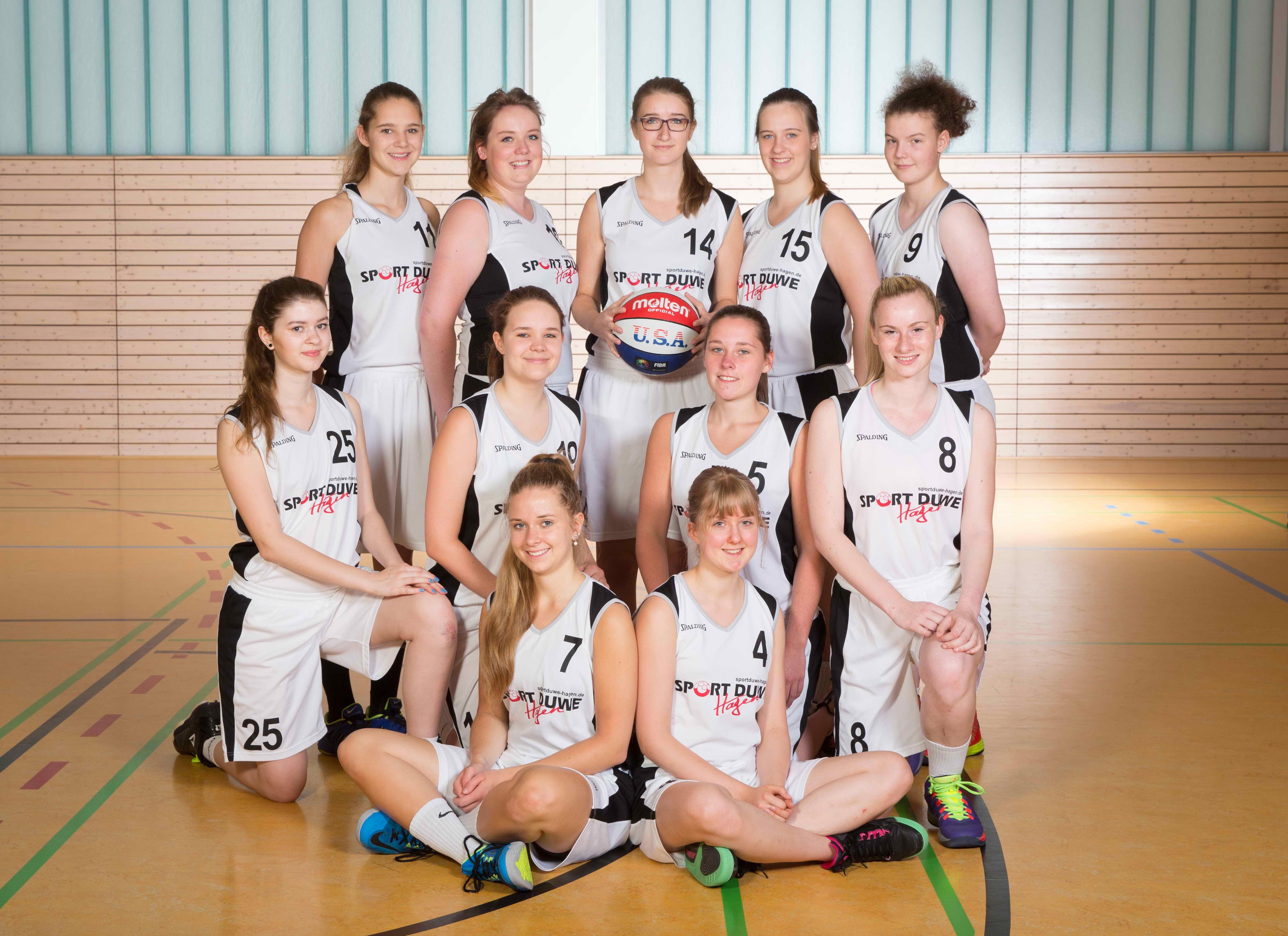 TSV Hagen Teamfoto Bezirksliga Damen