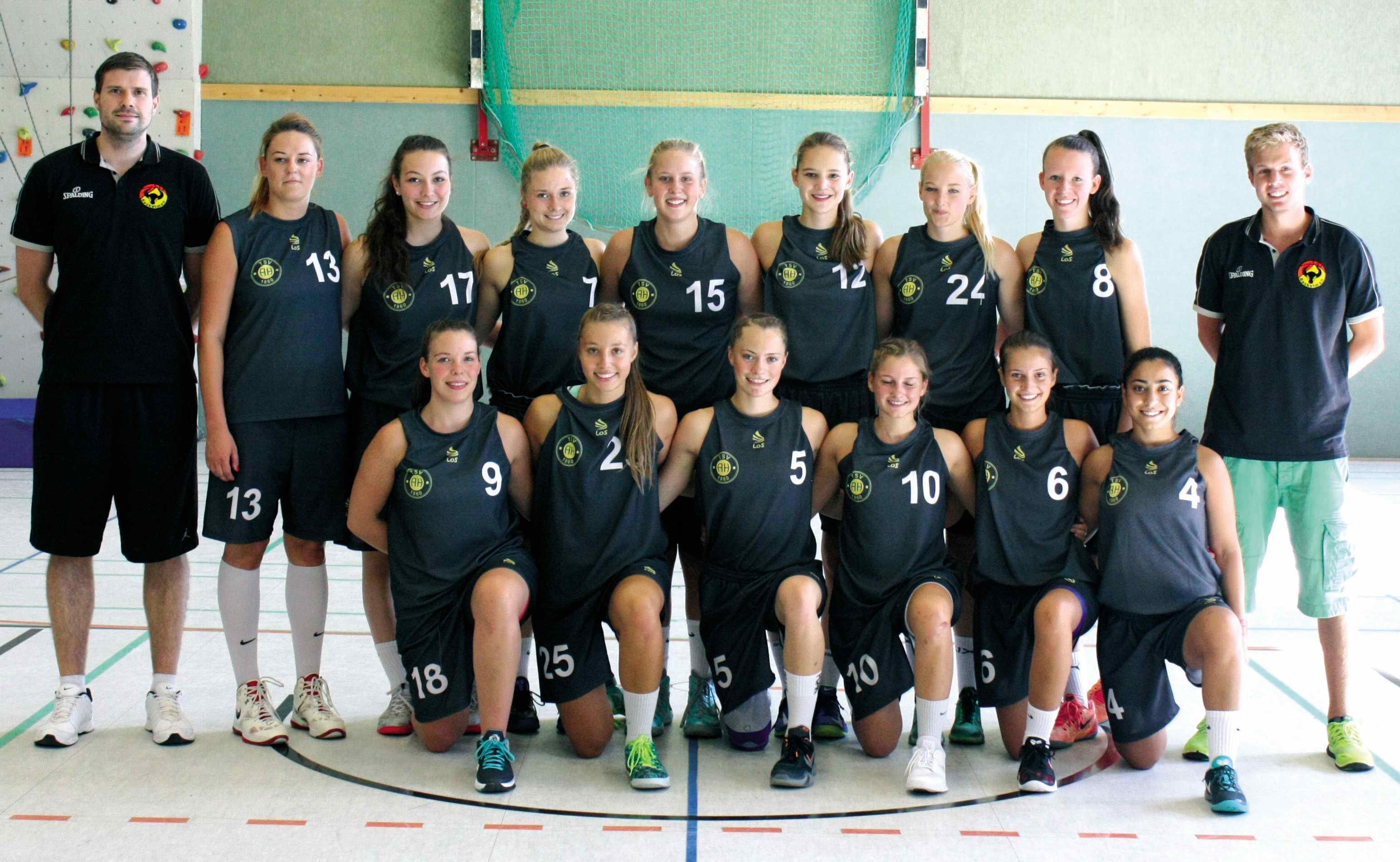 TSV Hagen Teamfoto Regionalliga Damen