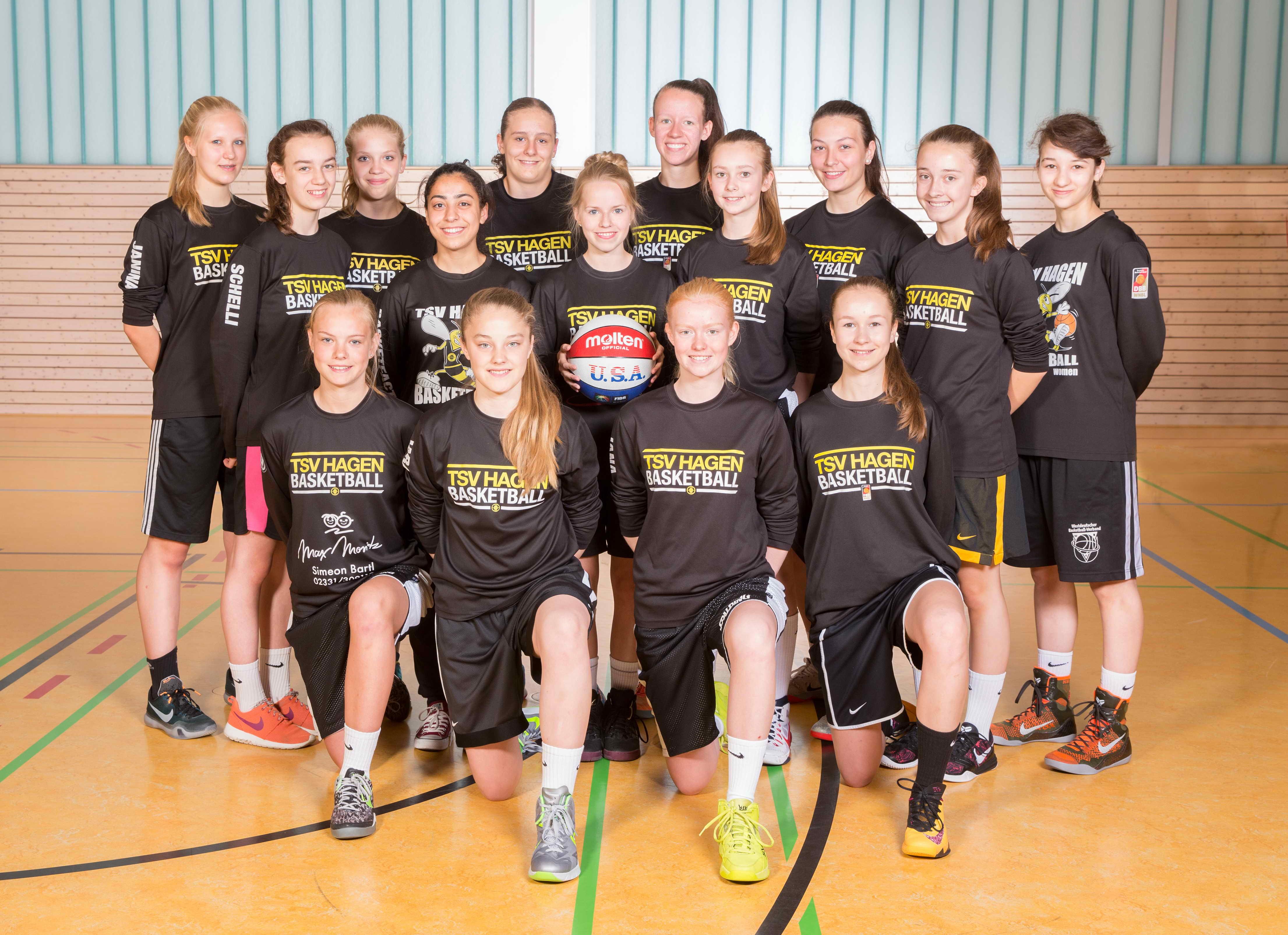 TSV Hagen Teamfoto U17/1  WNBL-Mannschaft