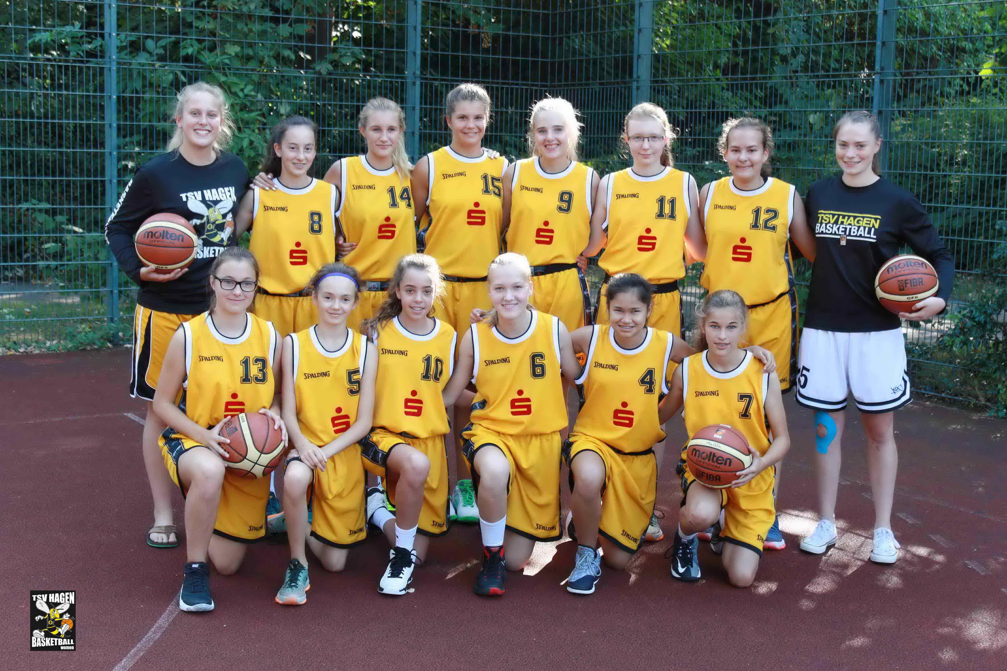 Teamfoto U15/2 Saison 2016/2017