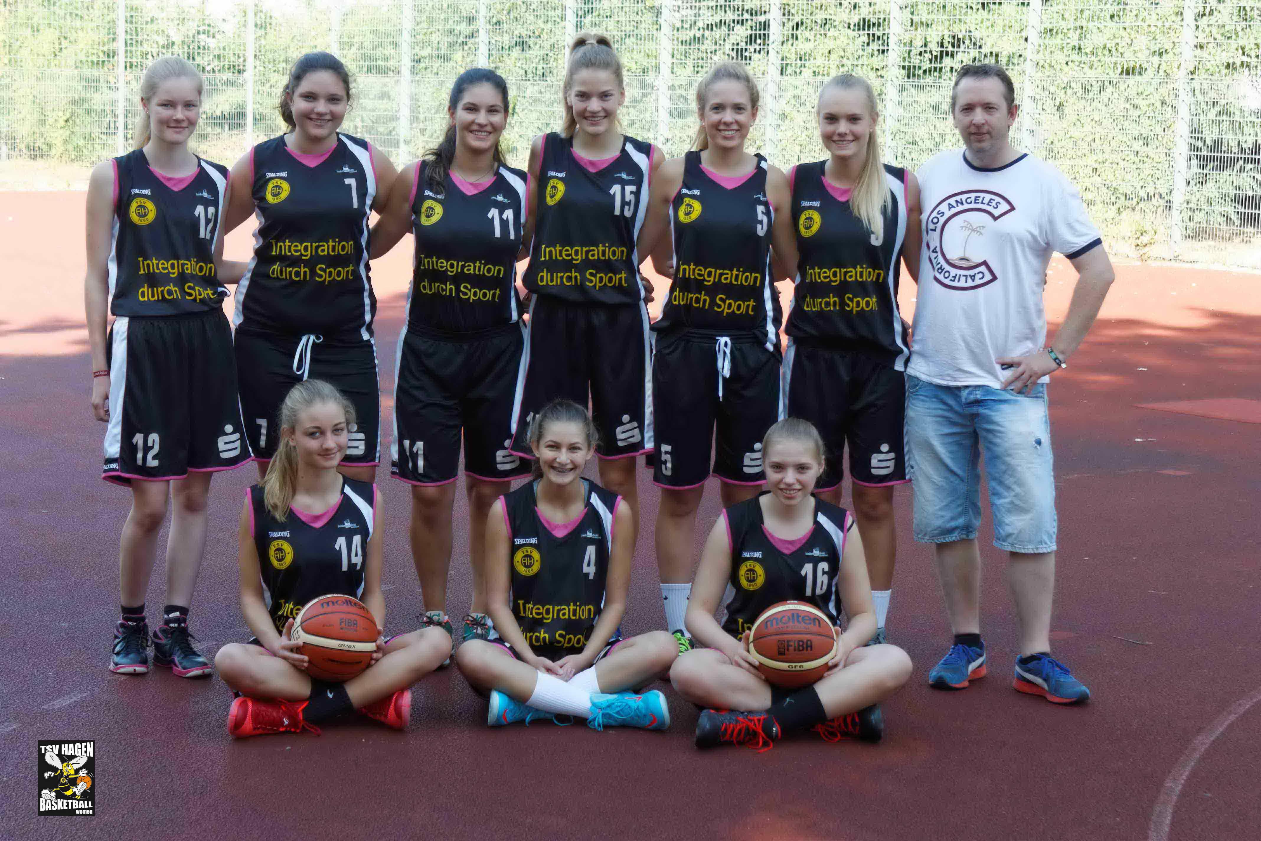 Teamfoto U17/2 Saison 2016/2017