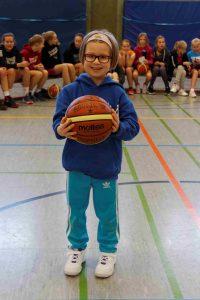 Mädchen Basketballcamp 2017