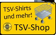 Werbung für den neuen TSV-Shop
