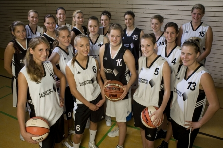 1. Damen Mannschaft 2009/10