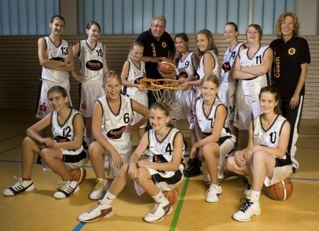 U13-1 Mannschaft 2009/10