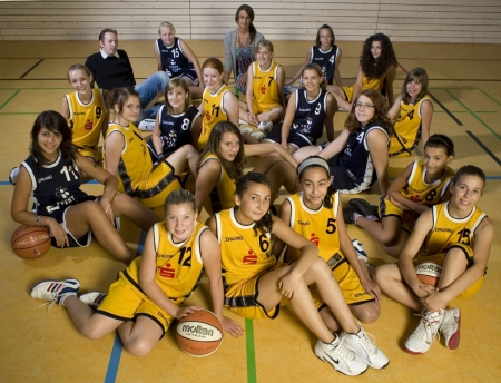 U15-2/3 Mannschaft 2009/10